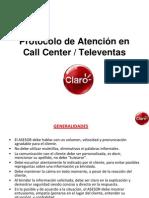 6 Protocolo de Atencion en Call Center - Televentas