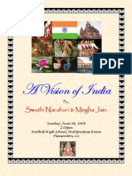 A Vision of India Program Details
