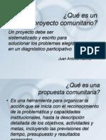 Como Se Elaborar Un Proyecto Comunitario Septiembre 2013