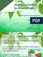 Ecologia y Ciencias Exactas