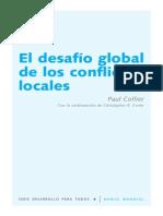 El Desafio Global de Los Conflictos Locales -Collier