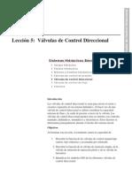 Curso Cat U3L5 Valv de Control Direccional