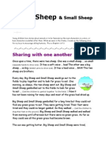 STORY Big Sheep and Small Sheep