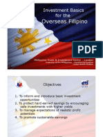 Investment Briefing for Filipinos Overseas