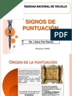 Signos de puntuación - Fonético, semántico, sintáctico