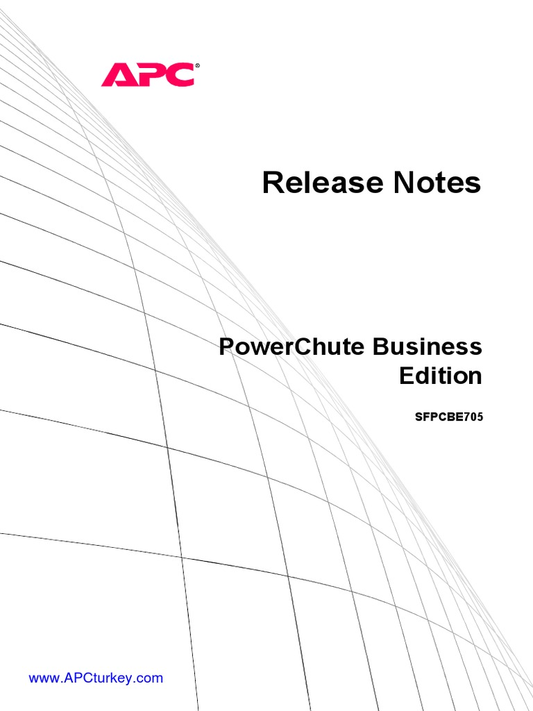 PowerChute Business Edition ENG | Windows Server 2003