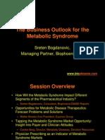 Metabolic Syndrome Talk