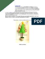 Manualidades navideñas en fieltro 2013