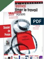 Filmer le travail - Dossier de presse
