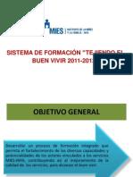 Sistema de Formación 2011 comunicación