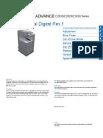 Canon imageRUNNER ADVANCE C2030/C2025/C2020 Series Service Manual Digest