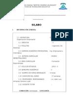 Silabo Const. y Org. Empresarial