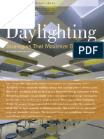 Daylighting Strategies That Maximize Benefits