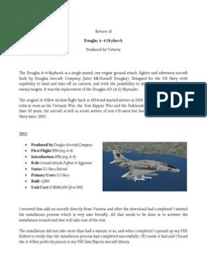 Review Virtavia a-4 Skyhawk | Jet Aircraft | Industries