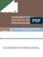 FUNDAMENTOS DA POLÍTICA E ECONOMIA INTERNACIONAL