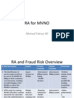 MVNO RA & Fraud Risk by Ahmad Fairuz Ali