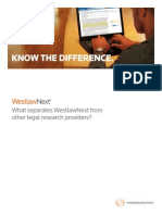 Westlaw Know the Difference