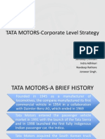 Case of Tata Motors-