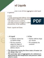 Gas and Liquids
