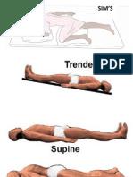 Macam - macam posisi pasien