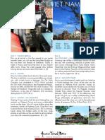 Vietnam Tours Package Compact Vietnam Tour