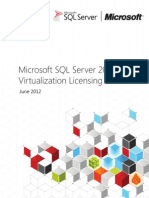 SQL Server 2012 Virtualization Licensing Guide
