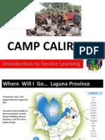 Intro Camp Caliraya 2013