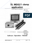 Isatel MDS21 Clamp SW Operation Manual
