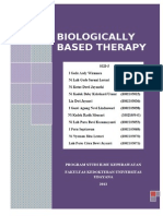 biologically based therapy