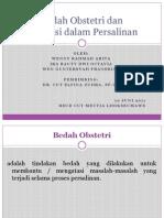 Bedah Obstetri - Rscm