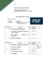 planificare anuala 1