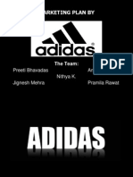 43300948 Marketing Strategies by Adidas