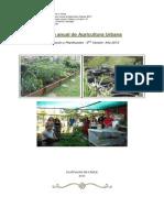 Información y Planificación Curso AU anual  2013