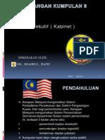 Badan Eksekutif ( Kabinet ) - PAM