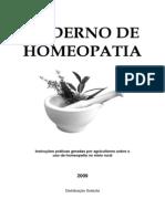 Apostila de Homeopatia - UFV