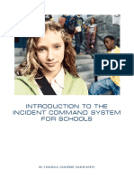 Introduction to the Incident Command System for Schools