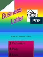 Business Letter 2013