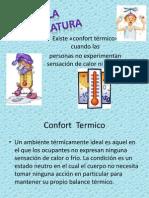 3.1 Temperatura Laboral