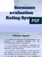 Performance Evaluation Rating System