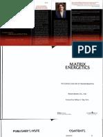 Matrix Energetics - Dr Richard Bartlett