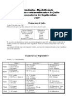 Exámenes de julio y septiembre 2009 pdf
