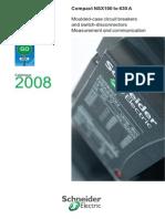 Www2.Schneiderelectric.it CompactNSX Documentation Cataloghi Compact NSX Catalogo En