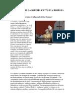 LAS RAICES DE LA IGLESIA CATÓLICA ROMANA Y EL PAPADO