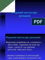 LP 2 - Preparatul Microscopic Permanent
