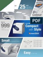E-STUDIO 2505 (2pages Brochure)