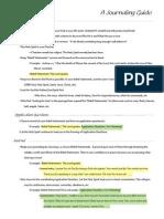 A Journaling Guide PDF
