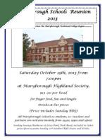 Maryborough Schools Reunion