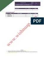 OHSAS Prosedur Pengendalian Operasional K3