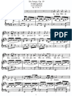 Felix Mendelssohn Bartholdy - 6 Gesänge, Op.19a
