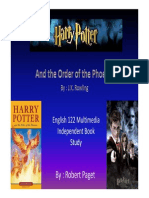 Harry Potter Order of Phonix Summary